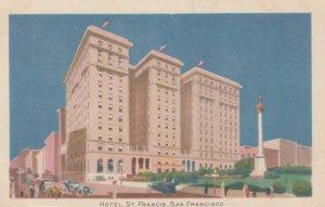 SAN FRANCISCO, California, 1910-20s; Hotel St. Francis