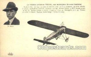 M. Bedel Early Air Airplane Unused