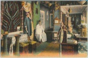 80349  -  TUNISIA  - VINTAGE POSTCARD   -   ETHNIC:   Bazar  1924