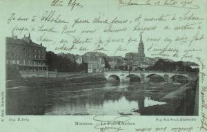 CPA MÉZIERES - Le pont d'arches (147906)