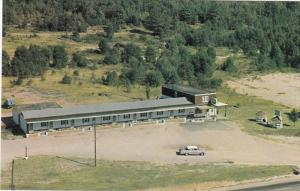 Aerial View, Hi-vue Motel, NORTH BAY, Ontario Canada, 40-60´