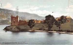 Urquhart Castle Loch Ness Scotland, UK 1906