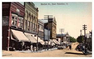 Ohio East Palestine , Market Street ,