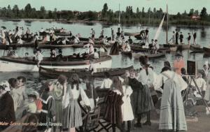 TORONTO, Ontario , 1900-10s ; Water Scene near the Island