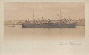SS Eturia Salt Steamer Ship Unused
