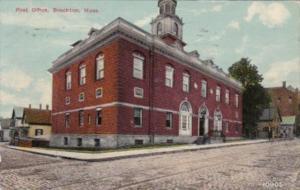 Massachusetts Brockton Post Office 1911