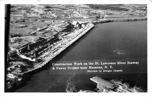 Closeout St. Lawrence River, Massena, NY, USA 1956