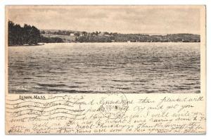 1905 Laurel Lake, Lenox, MA Postcard *5F(2)21