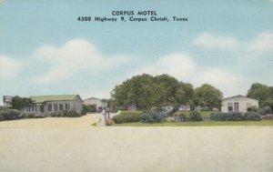 CORPUS CHRISTI , Texas , 30-40s ; Corpus Motel