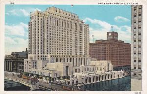 CHICAGO, Illinois, 1900-1910's; Daily New Building