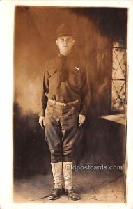Military Real Photo Post Cards Old Vintage Antique Soldier, Army Men WWI Unused
