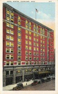 LP24   Cleveland Ohio Hotel Winton  Postcard