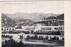Camposanto - Veduta Generale, GENOVA (Liguria), Italy, 1900-1910s