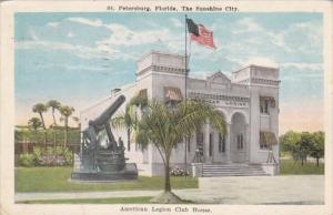Florida St Petersburg American Legion Club House 1929