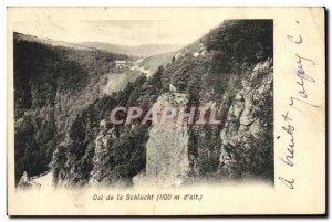 Old Postcard Col de la Schlucht