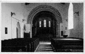 Stogursey Somerset Church Interior Eglise Postcard