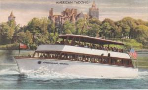 American Boat Line Passing The Famous Boldt Castle, American Adonis, GANANO...