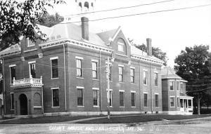 Dover Maine Jail Court House Real Photo Antique Postcard K33563