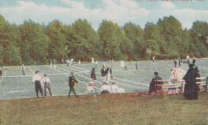 Finsbury Park Tennis Sports Courts Antique Postcard