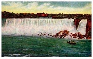 New York  Niagra Falls , View of American Falls