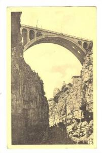 Constantine, Algeria, 1910-30s ; Les Gorges du Rhummel