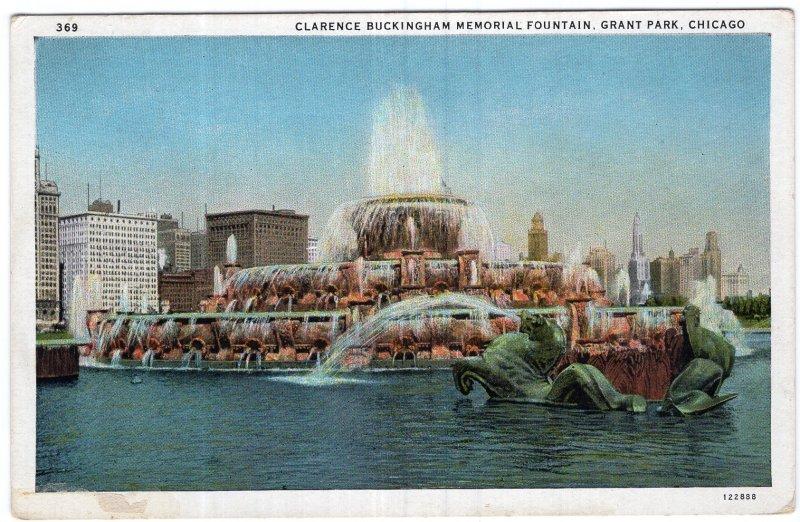Chicago, Clarence Buckingham Memorial Fountain, Grant Park