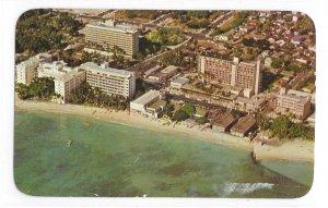 Honolulu Hawaii Waikiki Beach Hotels Moana Biltmore Surfrider Princess Kaiulani