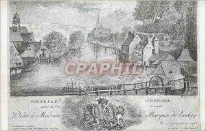 Postcard Old Deche was the Marquise de Laval lantisy Aveni?re