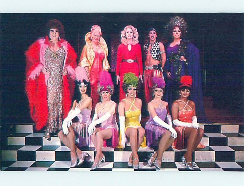 Pre-1980 Gay Interest FEMALE IMPERSONATORS San Francisco California CA hn3780-22