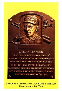 NY - Cooperstown. National Baseball Hall of Fame, Willie Keeler