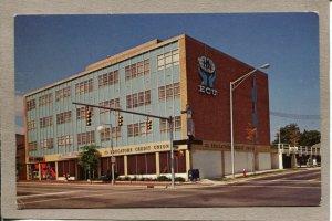 Postcard TN Nashville Whitley Building 21st Ave Street Scene 2475N