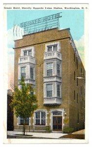 1930 Senate Hotel, Washington, DC Postcard *5N(3)18