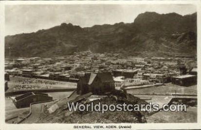 Aden Republic of Yemen General View Aden General View