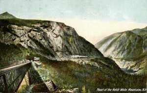 NH - Crawford Notch. Heart of the Notch, Willey Brook Bridge (Maine Central RR)
