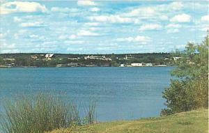 View of Lake Nasworthy & Homes Around San Angelo Texas TX