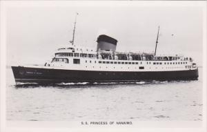 RP; B.C. Ship PRINCESS OF NANAIMO , B.C. , Canada , 30-40s