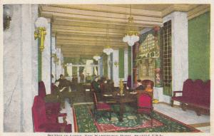 Interior View of Section of Lobby, New Washington Hotel, Seattle, WA, 1900-10s