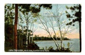 NY - Lake Champlain. Cumberland Head, West Side