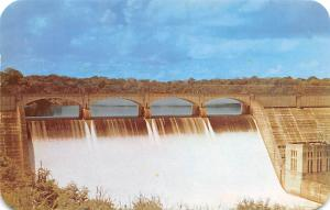 Panama Old Vintage Antique Post Card Madden Dam Chagres River Unused