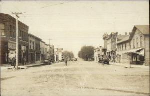 Rockwell Iowa IA c1910 Real Photo Postcard