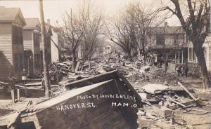 RP, Street after flood , HAMILTON , Ohio , 00-10s