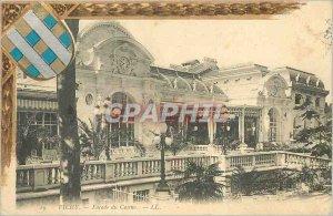 Postcard Old Vichy Casino Facade