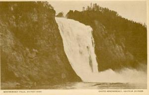 Canada - Quebec, Ste. Anne de Beaupre - Montmorency Falls, Views of the Cyclo...