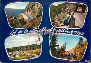 Modern Postcard Souvenir de la Schlucht (altitude 1139 m)