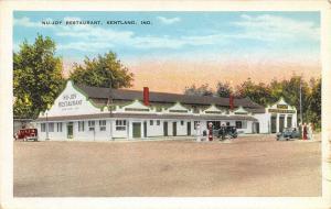 Kentland IN~Nu-Joy Restaurant, Motel, Garage & Gasoline Station~Sunrise 1920s