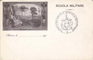 MODENA , Italy , 1890s ; Scuola Militare