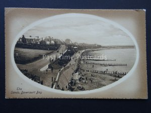 Essex DOVERCOURT BAY The Sands c1908 used 1911 Postcard by Valentine