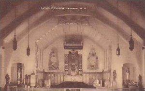 New Hampshire Lebanon Cathloic Church Artvue
