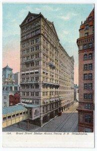 Philadelphia, Broad Street Station Annex, Penna R. R.