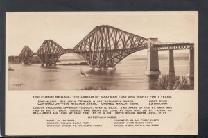 Scotland Postcard - The Forth Bridge, Midlothian  HM643